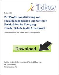 Ingo Diedrich, Tilman Zschiesche: Fortbildungen für Sozialpädagogen im Übergang Schule Beruf